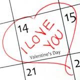 Día de Valentinves Imagen de archivo