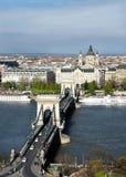 Día de verano asoleado en Budapest Fotografía de archivo libre de regalías