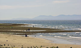 Día de verano en la playa del océano Fotografía de archivo