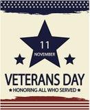 Día de veteranos Imagenes de archivo