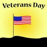 Día de veteranos en los E.E.U.U. ilustración del vector
