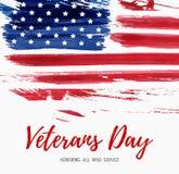 Día de veteranos de los E.E.U.U. libre illustration