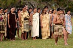 Día de Waitangi - día festivo de Nueva Zelanda Fotografía de archivo libre de regalías