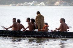 Día de Waitangi - día festivo de Nueva Zelanda fotos de archivo