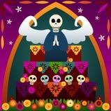 Día del altar muerto Fotografía de archivo libre de regalías