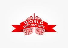 Día del asma libre illustration