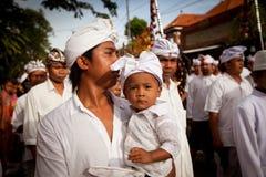 Día del Balinese de silencio Foto de archivo