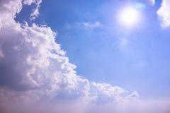 Día del cielo Imágenes de archivo libres de regalías