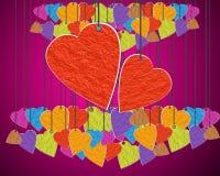 Día del corazón Fotografía de archivo