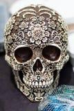 Día del cráneo de la muerte Fotos de archivo libres de regalías