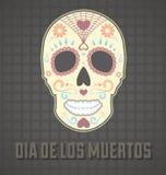 Día del cráneo muerto Fotos de archivo