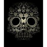 día del cráneo muerto libre illustration