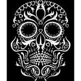 día del cráneo muerto ilustración del vector