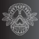 Día del cráneo muerto Imagen de archivo