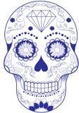 Día del cráneo muerto foto de archivo