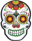 Día del cráneo muerto del azúcar stock de ilustración