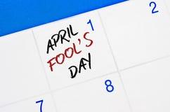 Día del ` de April Fools Fotografía de archivo libre de regalías
