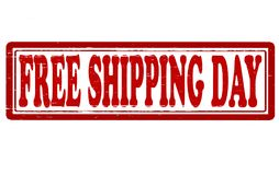 Día del envío gratis stock de ilustración