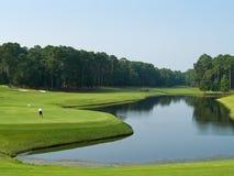 Día del golf Imagen de archivo libre de regalías