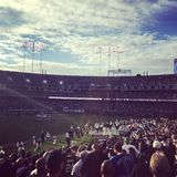 Día del juego de los Oakland Raiders fotografía de archivo