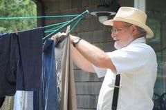 Día del lavado. Fotografía de archivo libre de regalías