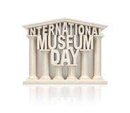 Día del museo Imágenes de archivo libres de regalías