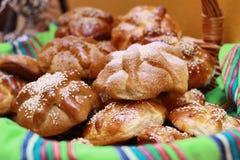Día del pan o del Hojaldra muerto Foto de archivo