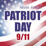 Día del patriota Foto de archivo
