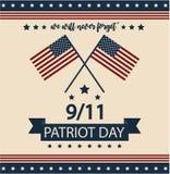 Día del patriota Fotos de archivo