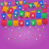 Día del ` s de April Fool Fotos de archivo