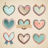 Día del `s de la tarjeta del día de San Valentín Fotos de archivo libres de regalías