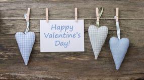 Día del ` s de la tarjeta del día de San Valentín Imagenes de archivo