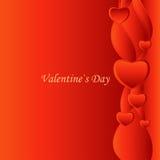 Día del `s de la tarjeta del día de San Valentín Imagen de archivo