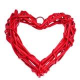 Día del ` s de la tarjeta del día de San Valentín, el 14 de febrero Inscripciones sobre amor Foto de archivo