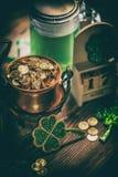 Día del ` s de St Patrick Imagen de archivo libre de regalías