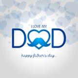 Día del `s del padre stock de ilustración