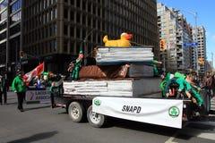 Día del ` s del St Patric en Toronto imagen de archivo