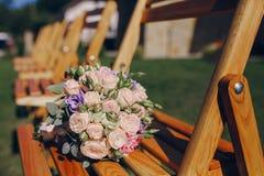 Día del sol de la boda Imágenes de archivo libres de regalías