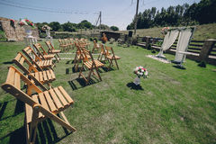 Día del sol de la boda Imagen de archivo libre de regalías
