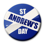 Día del St Andrews stock de ilustración