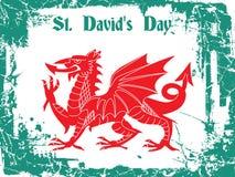 Día del St Davids ilustración del vector
