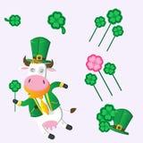 Día del St. Patrick - colección del vector. Imagenes de archivo