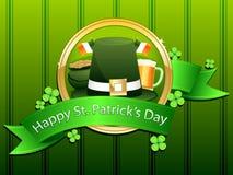 Día del St. Patrick feliz ilustración del vector