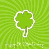 Día del St. Patrick feliz Imágenes de archivo libres de regalías