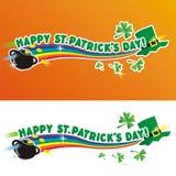 Día del St. Patrick feliz Imagen de archivo libre de regalías