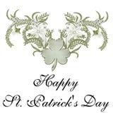 Día del St. Patrick feliz Fotografía de archivo libre de regalías