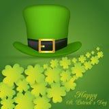 Día del St Patrick feliz Vector EPS 10 Imágenes de archivo libres de regalías