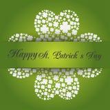Día del St Patrick feliz Vector EPS 10 Fotografía de archivo libre de regalías