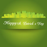 Día del St Patrick feliz Vector EPS 10 Fotos de archivo libres de regalías