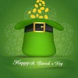 Día del St Patrick feliz Vector EPS 10 Fotografía de archivo